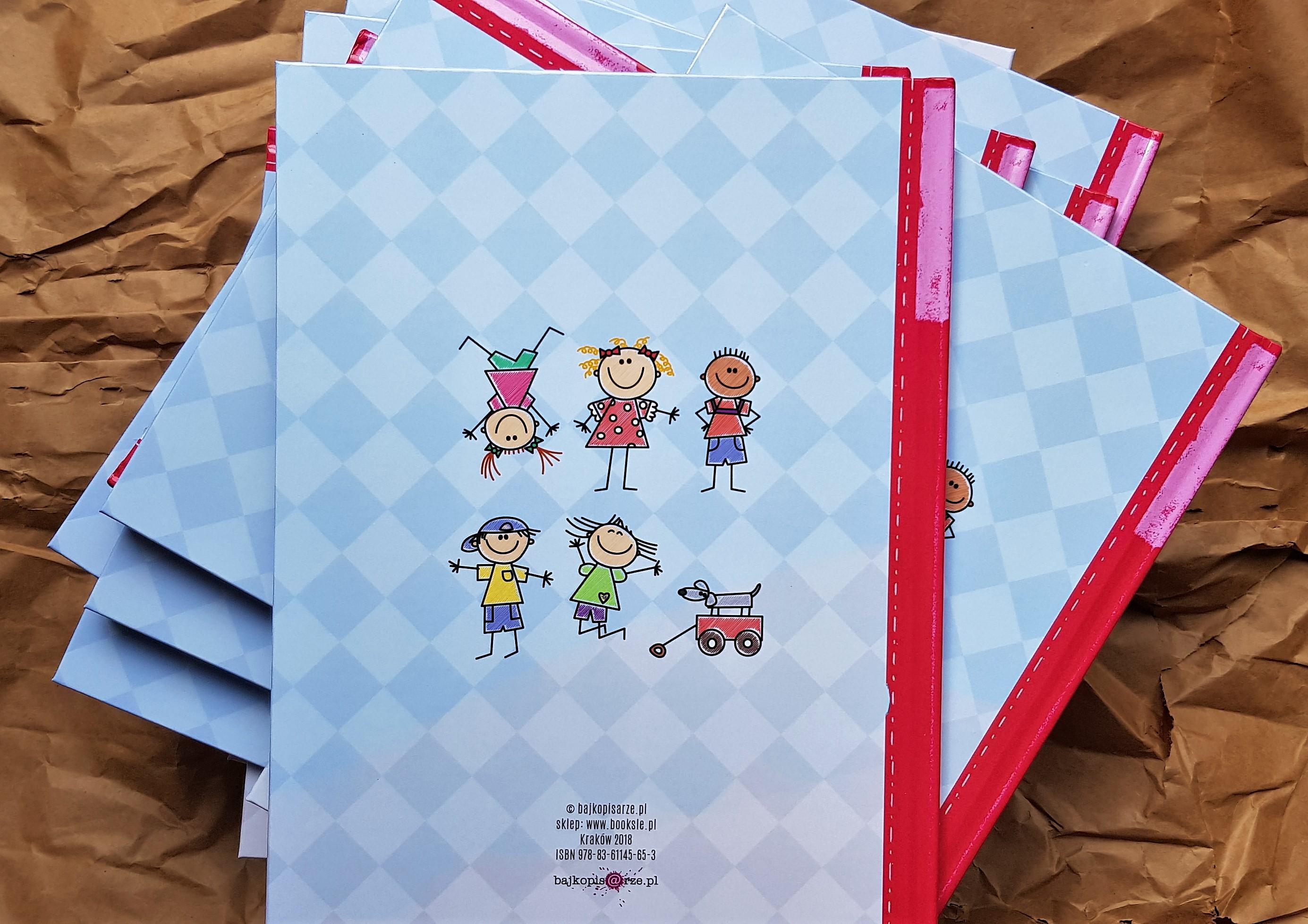 okładka książek z okazji zakończenie roku przedszkolego