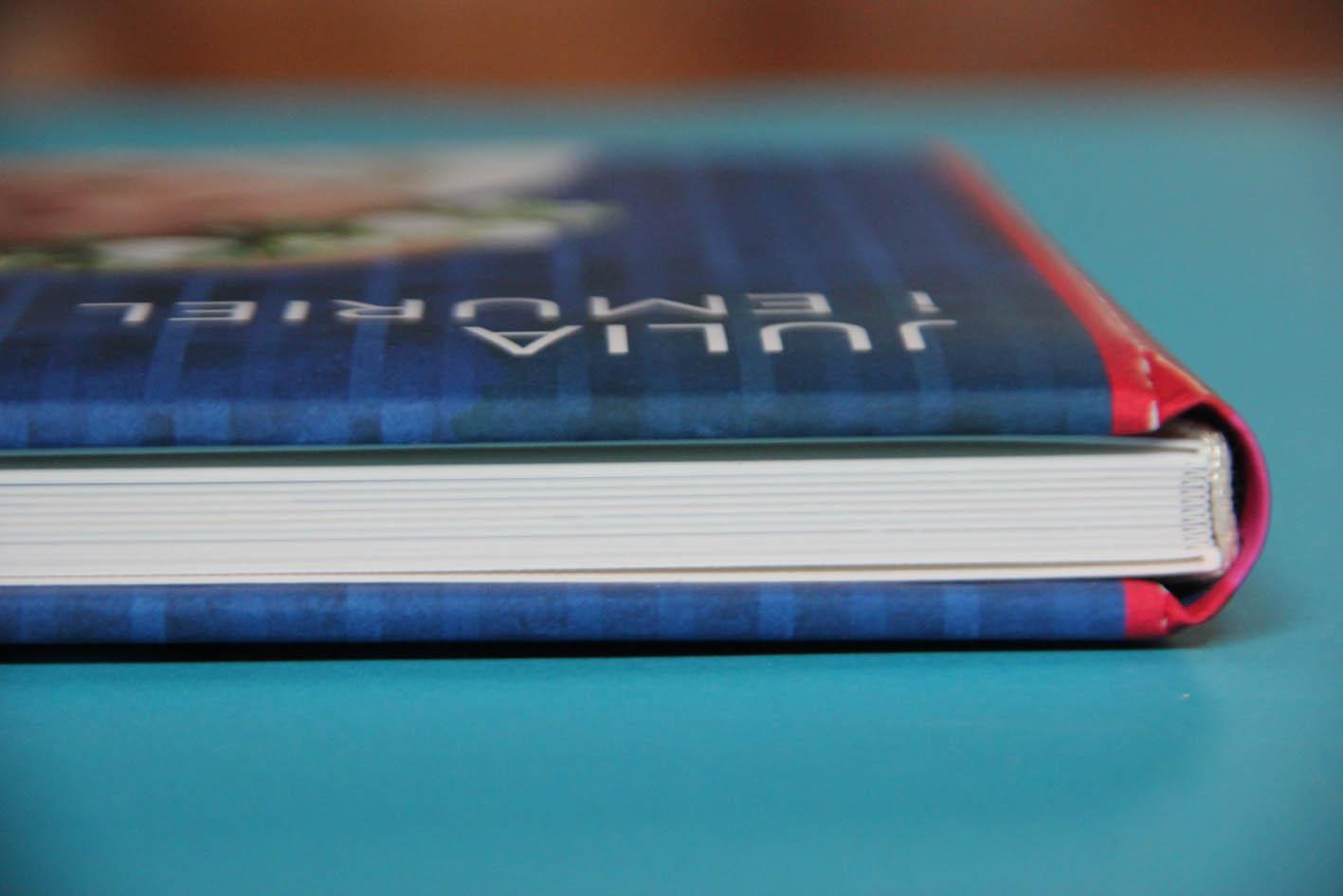 okładka personalizowanej książki wydrukowanej na tekturze